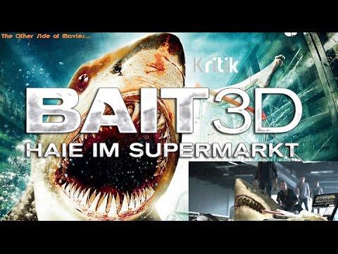BluRay Kritik - Bait 3D -  Haie Im Supermarkt