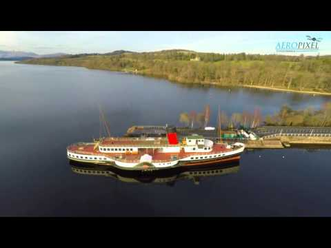 The Bonnie Banks of Loch Lomond by Drone