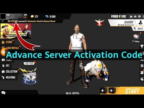 How To Get Advance Server Activation Code In Free Fire Free Fire Advance Server Activation Code Youtube