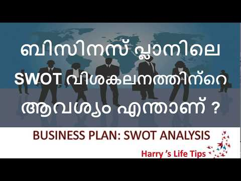 Business Plan: SWOT ANALYSIS { Malayalam} Harry