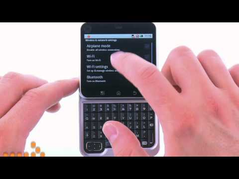 Connect to a Wi-Fi Hotspot using the Motorola FLIPOUT™: AT&T How to Video Series