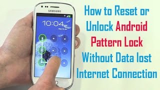 How to unlock android phone pattern lock without losing data Resimi