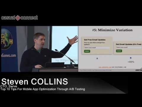 Top 10 Tips For Mobile App Optimization Through A/B Testing | Steven COLLINS
