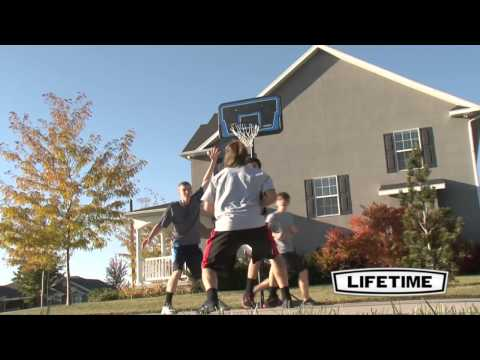 1268   44'' Streamline Basketball System HD