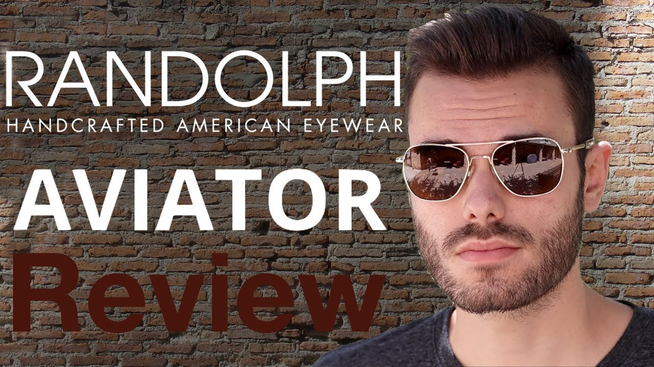 9a61eda2fa Randolph Engineering Aviator Review - YouTube