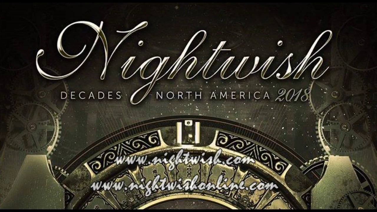 Nightwish Decades World Tour 2018