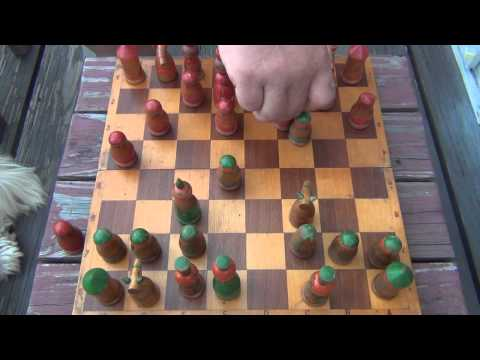 Chess Match : Myself Vs. My Father (5/26/2014)