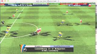 Lets play Uefa Euro 2000 part 4 German HD (PC)