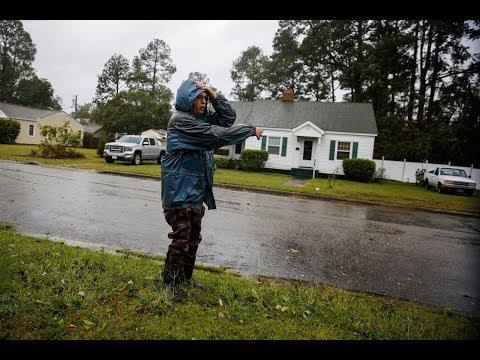Nearing landfall, huge Hurricane Florence threatens to dump historic rainfall