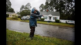 Nearing landfall, huge Hurricane Florence threatens to dump historic rainfall