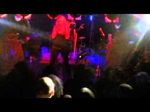 Velvet Acid Christ - Dilaudid (ft Donna Lynch on vocals) at Santos Party House, NYC 01.31.15