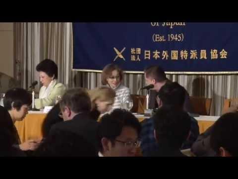 【イスラム国人質】後藤健二氏の母会見 (Junko Ishido, Mother of Kenji Goto who is a Hostage by the Islamic State group)