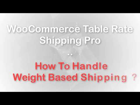 Best WooCommerce Shipping Calculator — Table Rate Shipping