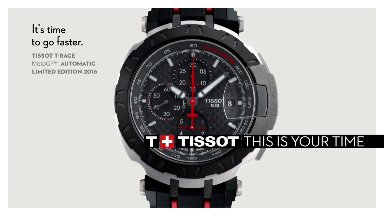 tissot t race motogp automatic 2016 youtube. Black Bedroom Furniture Sets. Home Design Ideas