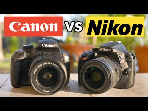 Canon T6 vs Nikon D3400 - Best Camera Under $500!
