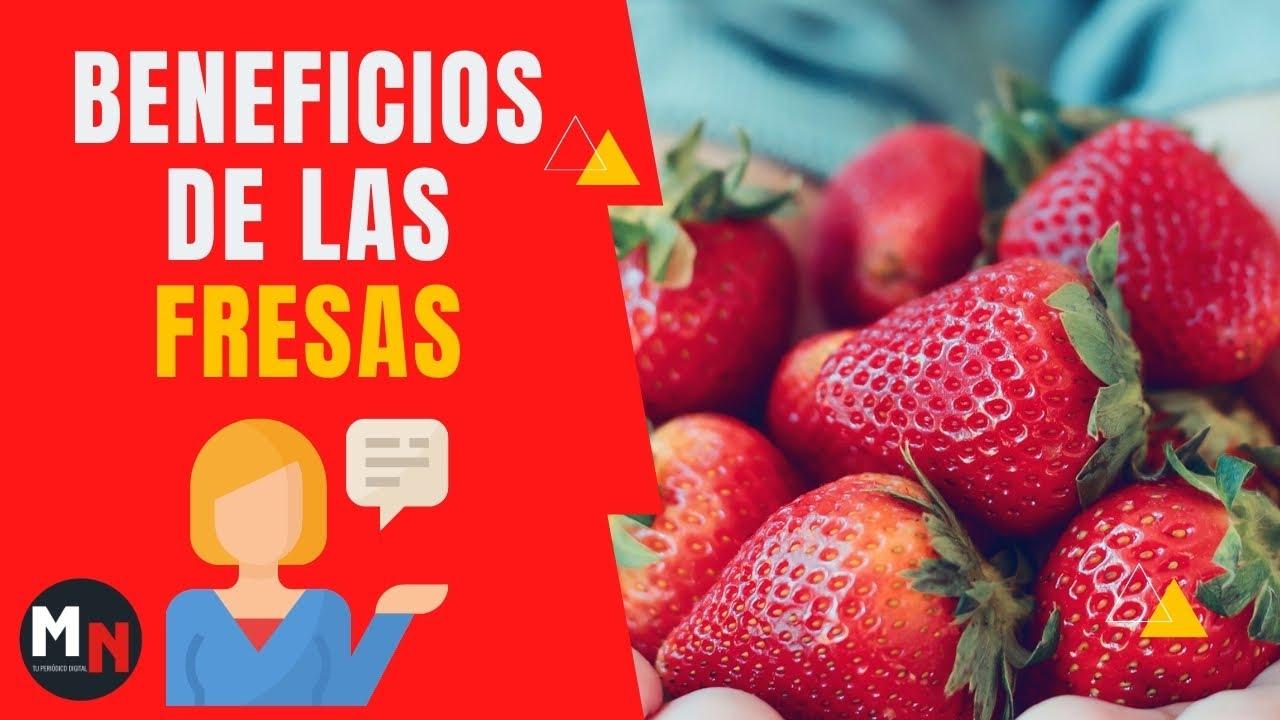 fresas para el higado graso