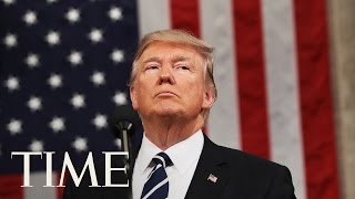 President Trump Delivers Commencement Address At The U.S. Coast Guard Academy   TIME