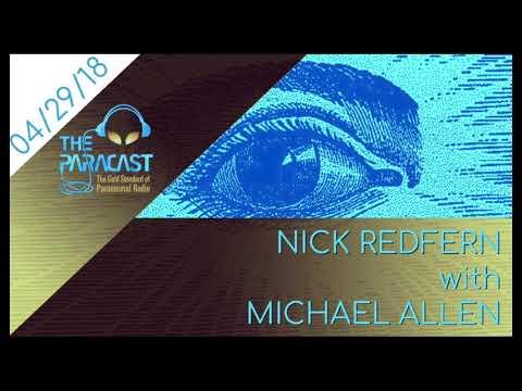 The Paracast: April 29, 2018 — Nick Redfern with Michael Allen