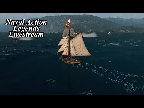 Naval Action Legends Closed Beta Stream!