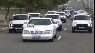 Армянская свадьба в НКР с нивами