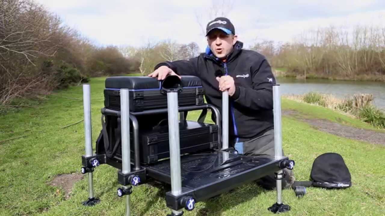 ***Coarse & Match Fishing TV*** Super 36 Seat Box