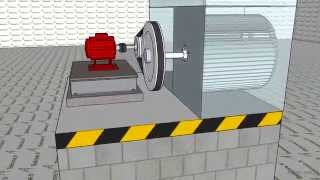 Animation turbine