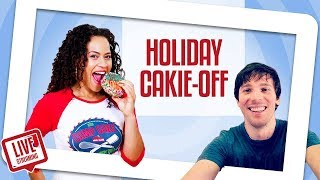 FUN & FESTIVE Holiday Cakie-Making Competition | Yolanda Gampp | How To Cake It thumbnail
