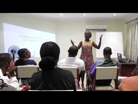"""Lecture on """"Women and the World of Work in Ghana"""" by Akosua Darkwah"""