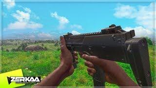 NEW 'SUB MACHINE GUN' IN H1Z1 (H1Z1 King of the Kill)