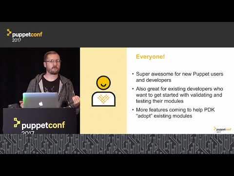 Puppet Development Kit: A Seamless Workflow for Module