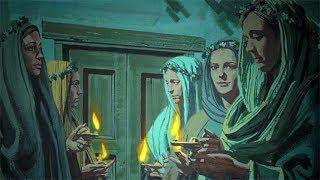 Thời mua dầu của 5 cô khờ dại - Ảnh Phép Lạ Chúa Giêsu