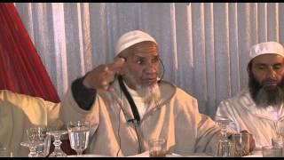 جانب من درس الشيخ با العلاوي مع الشيخ عبد الله نهاري