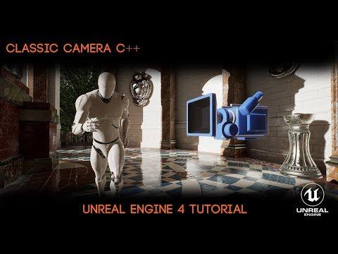 UE4 C++ Tutorial - Classic Camera System (Resi/Dino Crisis)