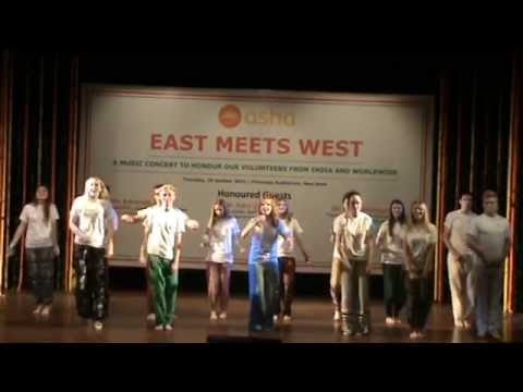 East Meets West 2015 - Group Dance by Royal School Armagh