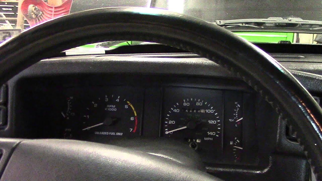Foxbody Tachometer Repair Part 1 Youtube 0 5 Mustang Tach Wiring