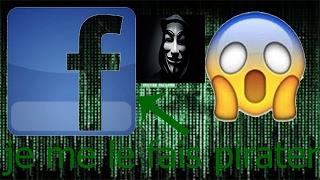 je me fais pirater mon compte facebook