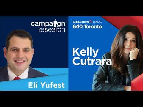 Eli Yufest speaks about Mayor Tory's Vision 0 plan on Global 640