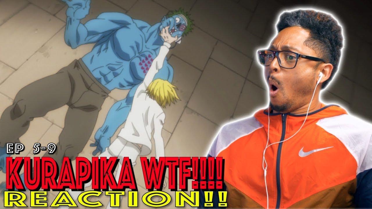 WTF! Kurapika loses it!! First Time Watching HxH Episode 5 6 7 8 9