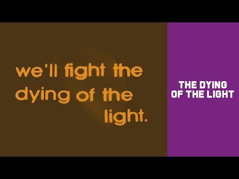 Noel Gallagher's High Flying Birds - The Dying Of The Light (Lyric Video)