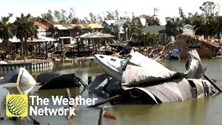 SEE IT: Extensive damage across eyewall-struck Mexico Beach, FL