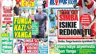 MICHEZO Magazetini Alhamisi 13/12/2018:Simba Yamnasa Kiboko ya Mkude