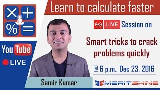 Vedic Math tricks - Application in Bank PO, Clerk, SSC exams