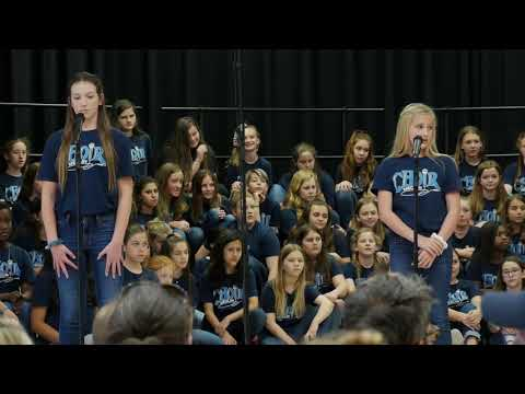 2019 Medlin Middle School 6th Grade Girls End of Year Choir