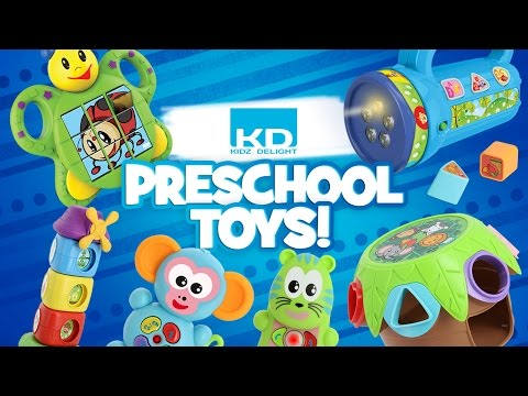 KIDZ DELIGHT'S LINE OF PRESCHOOL TOYS!!! | A Toy Insider Play by Play