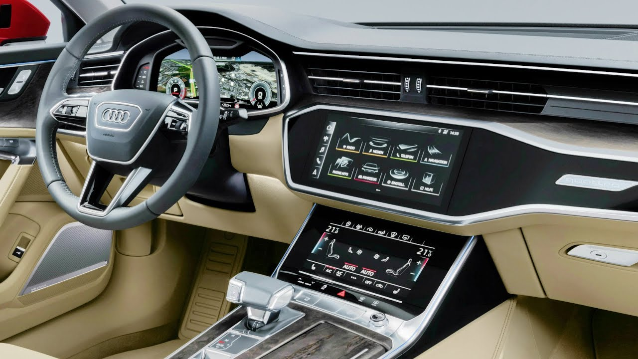 2019 Audi A6 - INTERIOR - YouTube