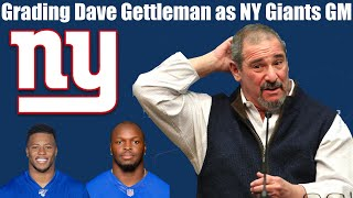 Grading Dave Gettleman as Giants GM