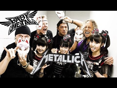 babymetal with famous bands