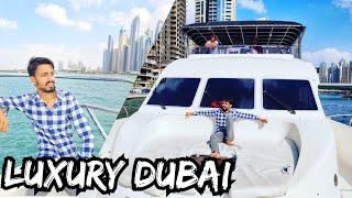 Luxury Life in Dubai - LUXURY YATCH TOUR