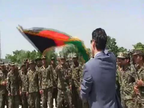 Farhad Ghafoor with 7000 Afghan Soldiers at their Graduation Ceremony
