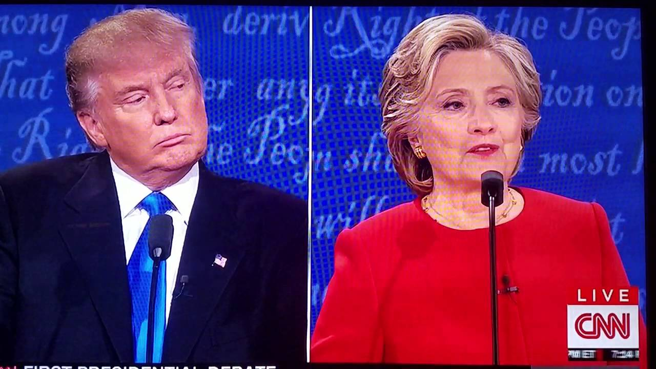 Presidential debate wrong wrong wrong trump